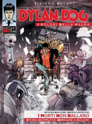 Dylan Dog i colori della paura 50 - I morti non ballano (2016)