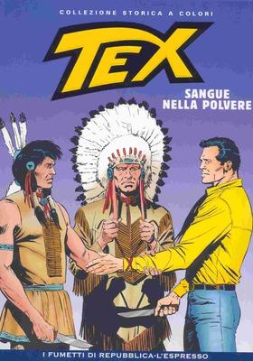 Tex Willer Collezione Storica a Colori 33 - Sangue nella Polvere (2007)