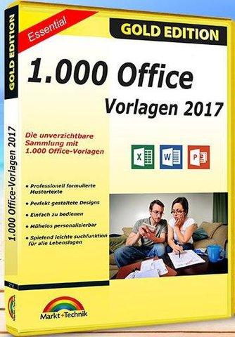 Markt und Technik - 1000 Office Vorlagen 2017