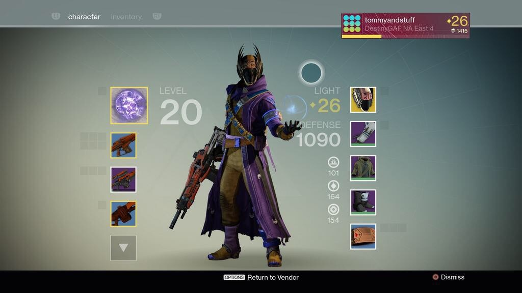 The-Best-Exotic-Armor-For-Warlock-In-Destiny In this three part ...