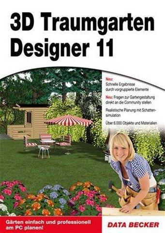 grafik data becker 3d traumgarten designer 11. Black Bedroom Furniture Sets. Home Design Ideas