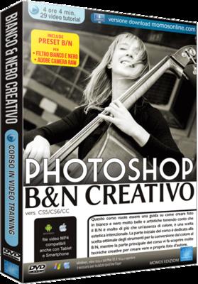 Grafica Digital Foto n.91 Corso Avanzato Photoshop Bianco e Nero Creativo - ITA