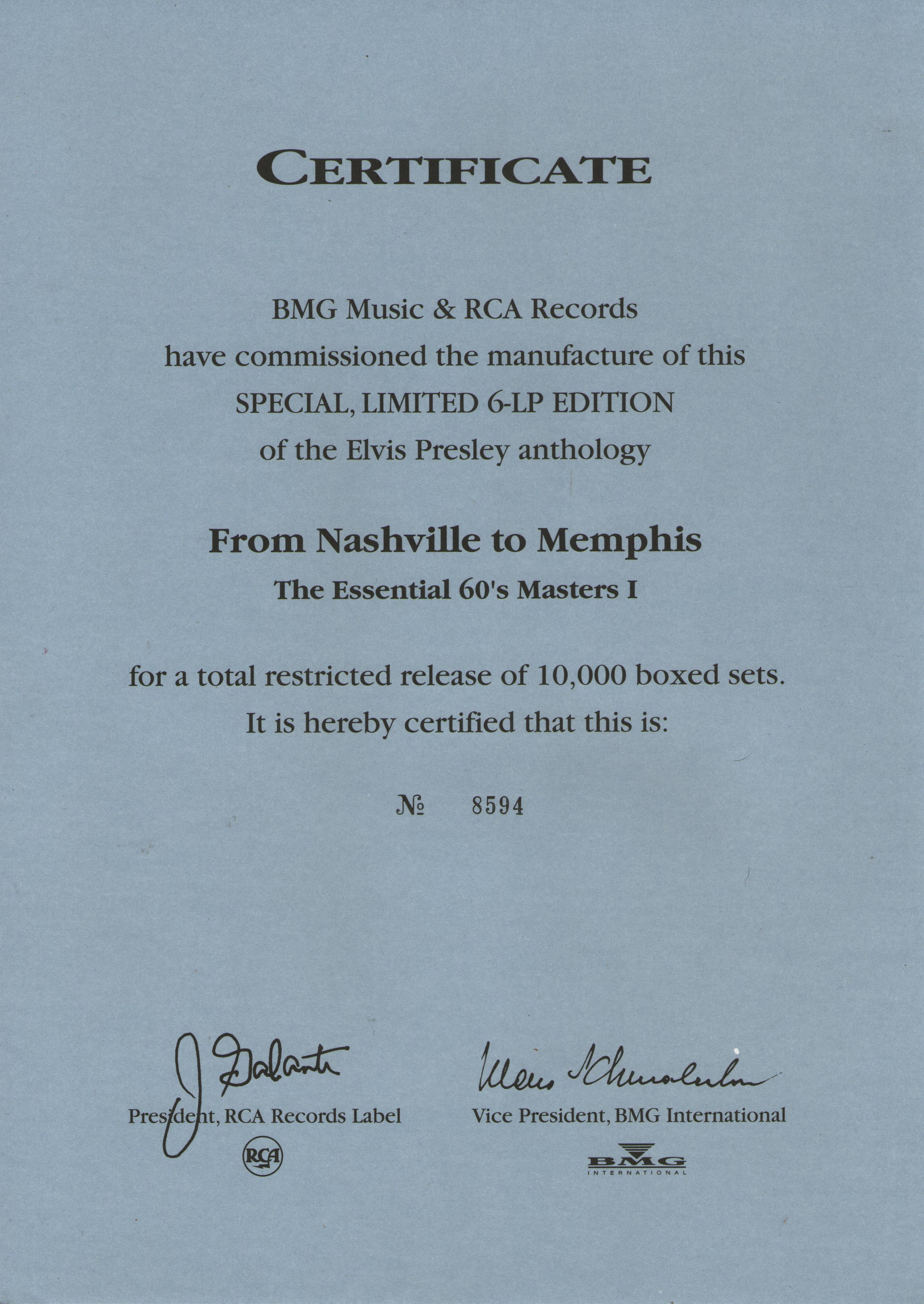 ELVIS - FROM NASHVILLE TO MEMPHIS - THE ESSENTIAL 60'S MASTERS Img5hkohf