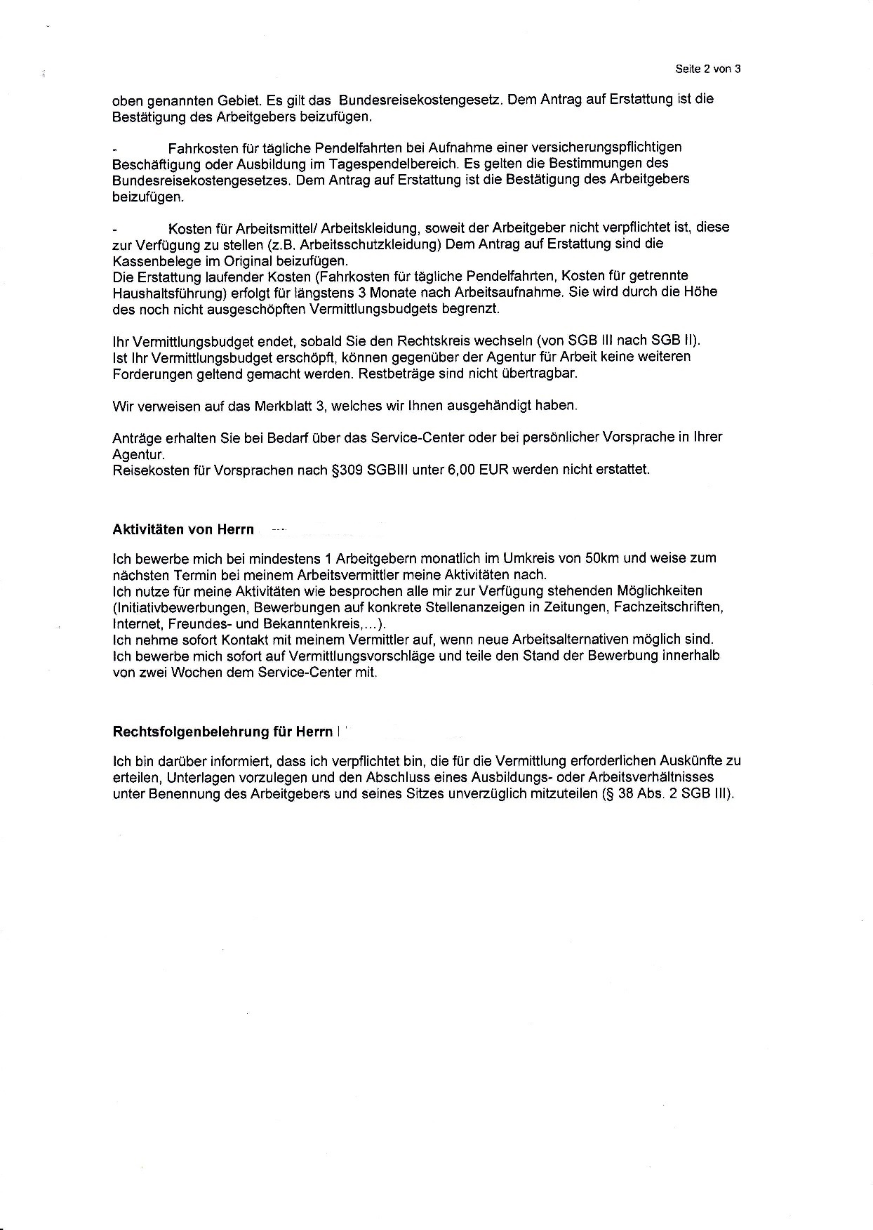 Eingliederungsvereinbarung bekommen - ALG-Ratgeber - Hilfe zur ...