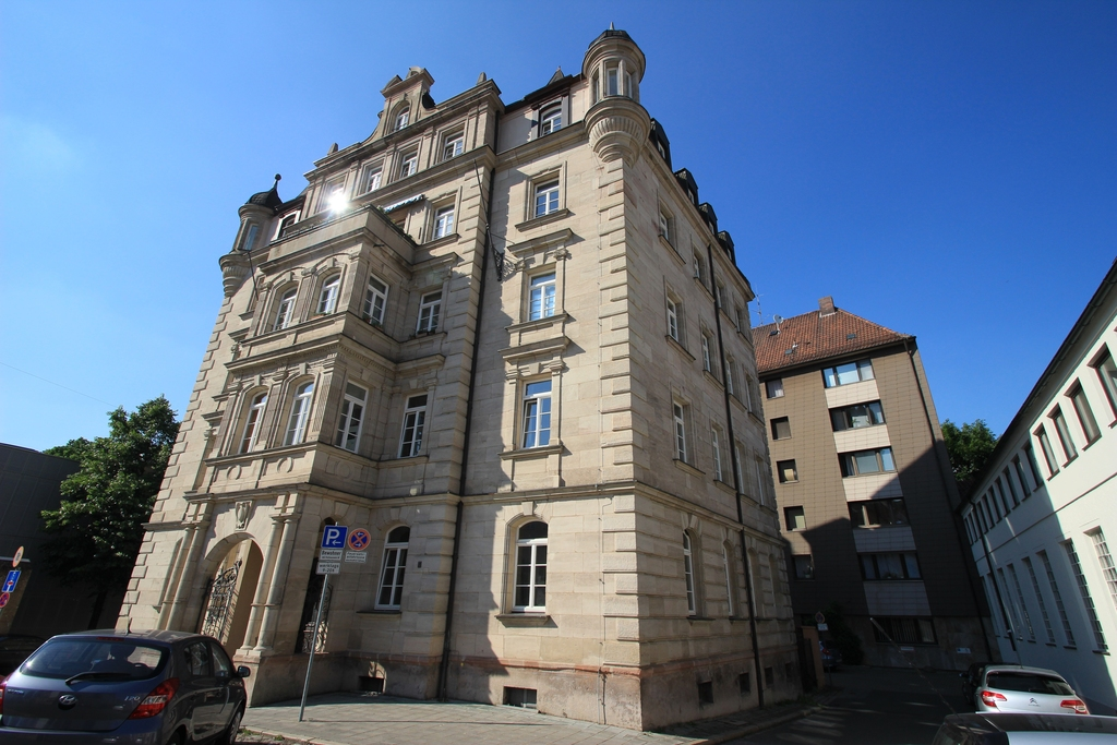 Amtsgericht Nã Rnberg Flaschenhofstr bereich hauptbahnhof marienvorstadt archiv deutsches