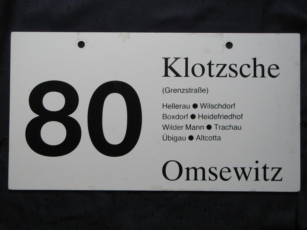 Dresdner Busgeschichte(n) [Archiv] - Deutsches Architektur-Forum