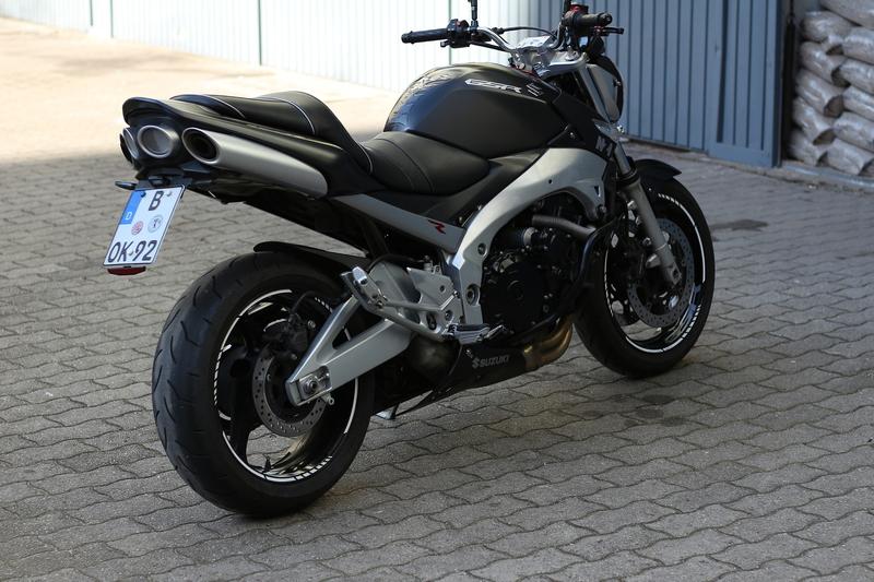 Meine schwarze 600