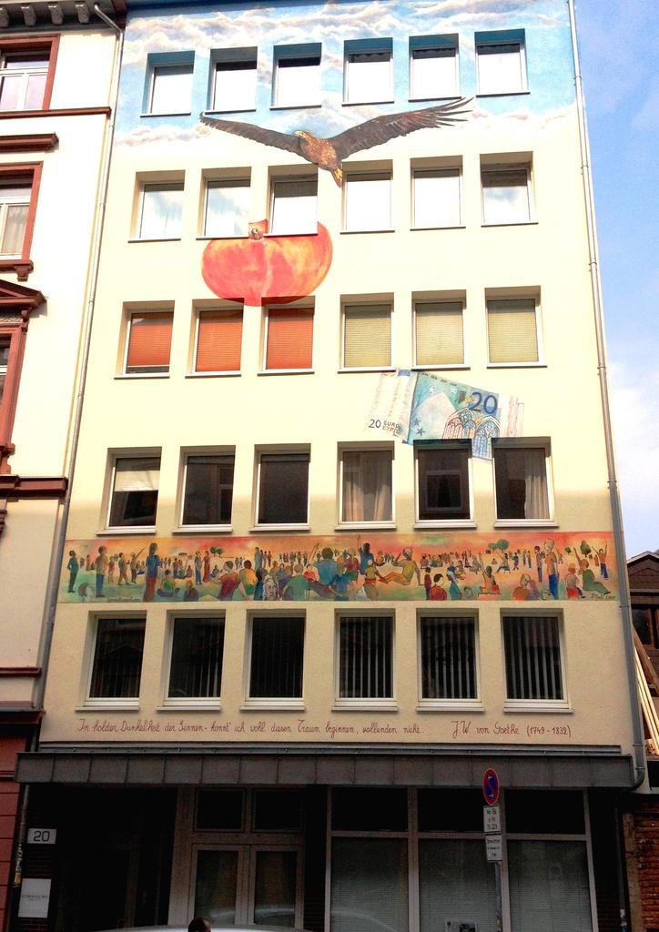 Frankfurter Fassaden im Detail [Archiv] - Deutsches Architektur-Forum