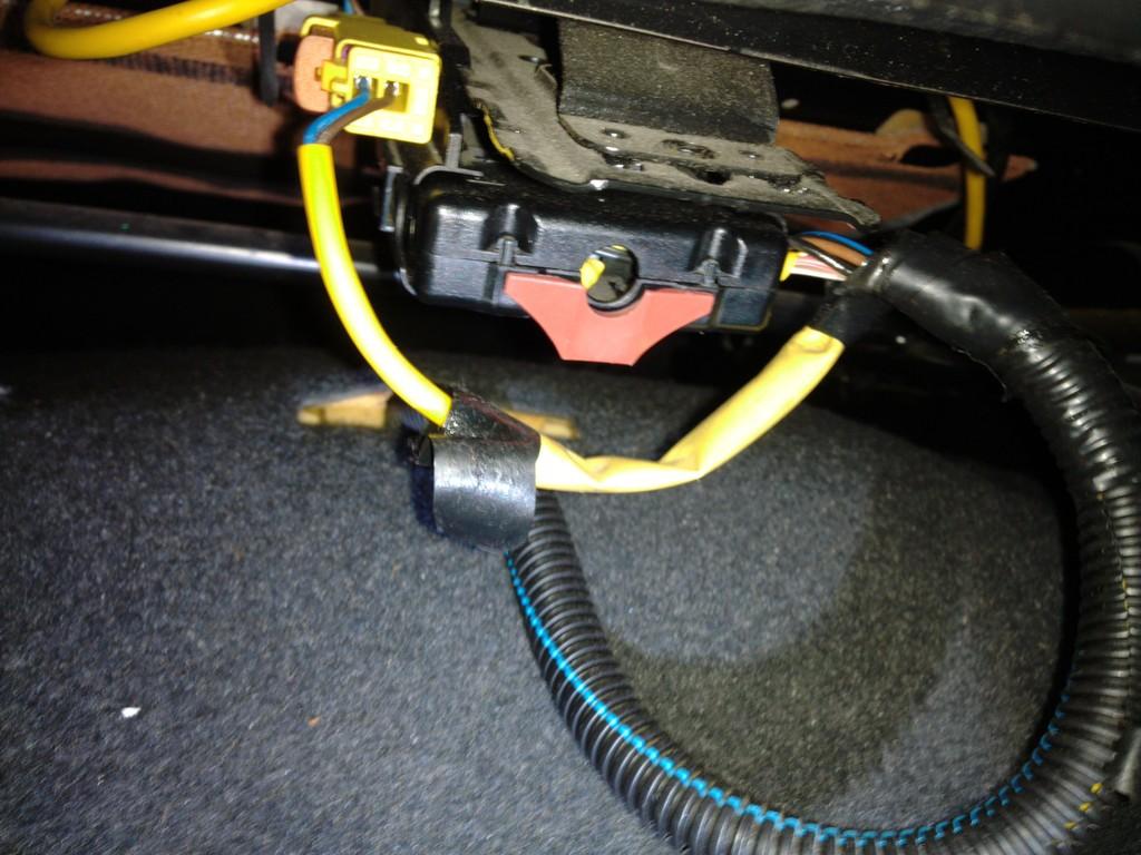 Astra G Lampen : Ominöse kabel verbindung gecrimpt unterm fahrer sitz nicht der
