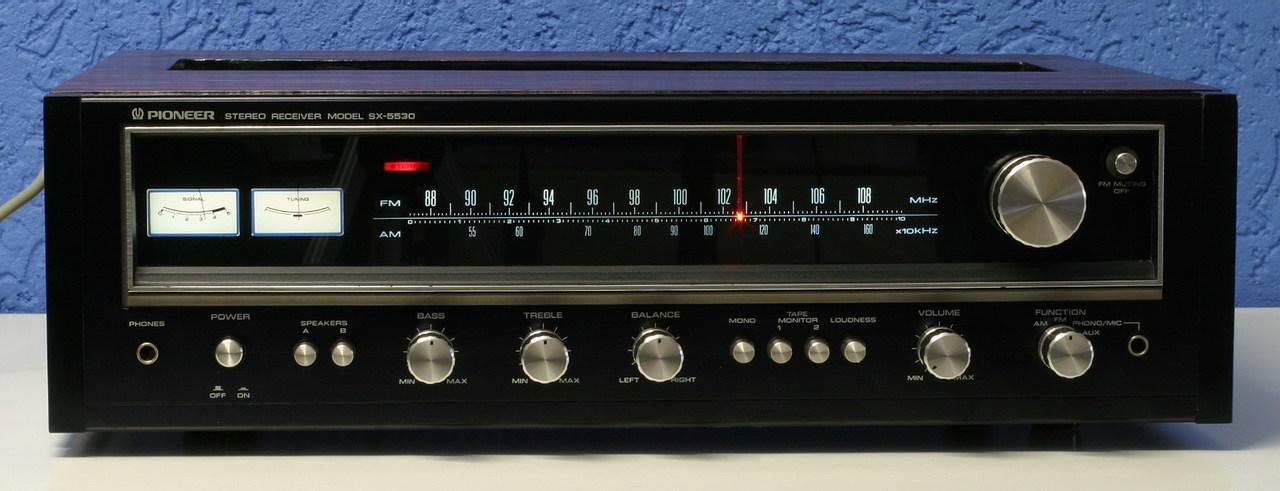Pioneer Sx 5530 Receiver Sehr Gepflegter Zustand Techn