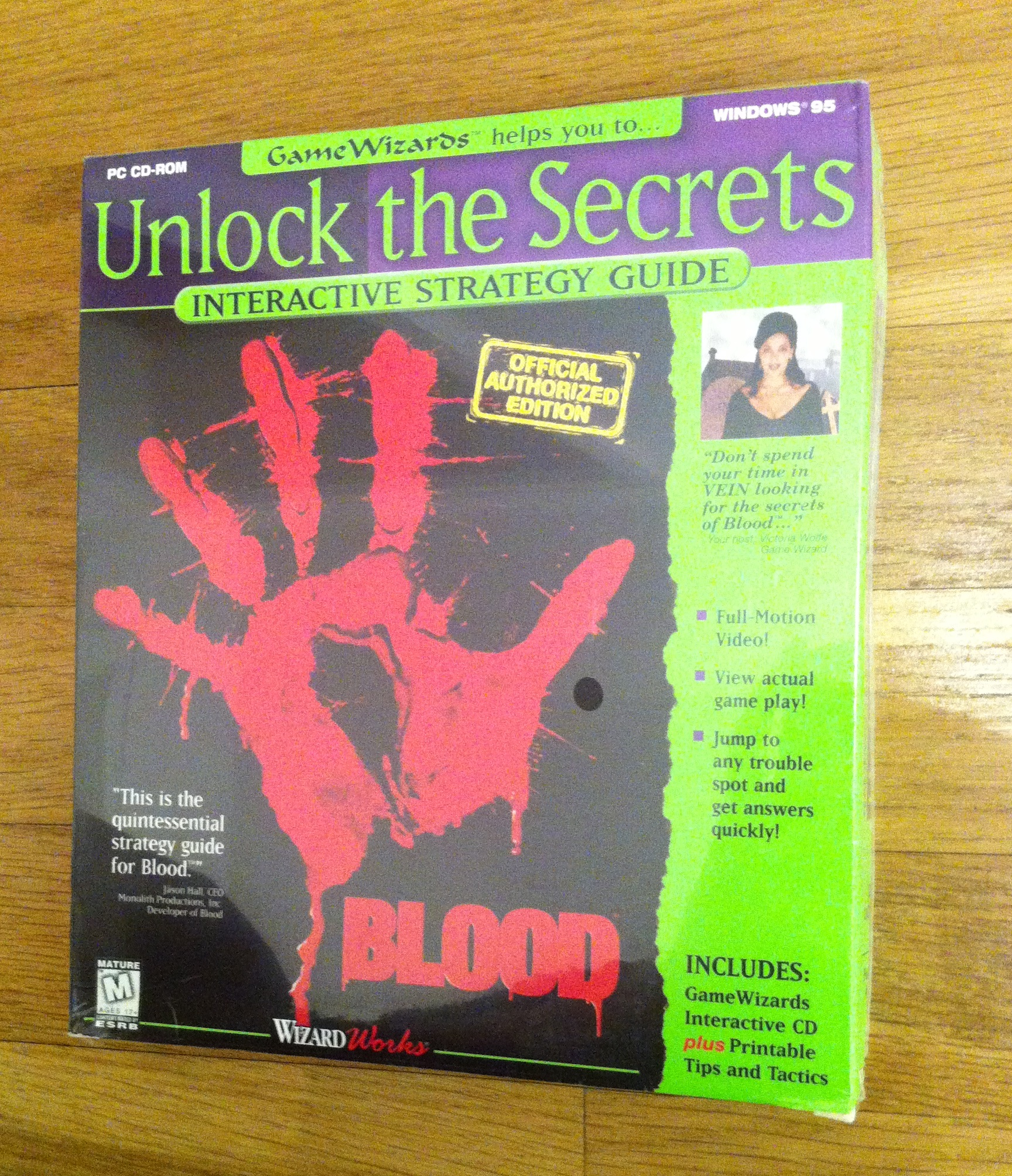 [Wertanfrage] Blood (1997) Monolith Productions in Big Box (UK) + Unlock The Secrets (Sealed)[Wertanfrage] Blood (1997) Monolith Productions in Big Box (UK) + Unlock The Secrets (Sealed)