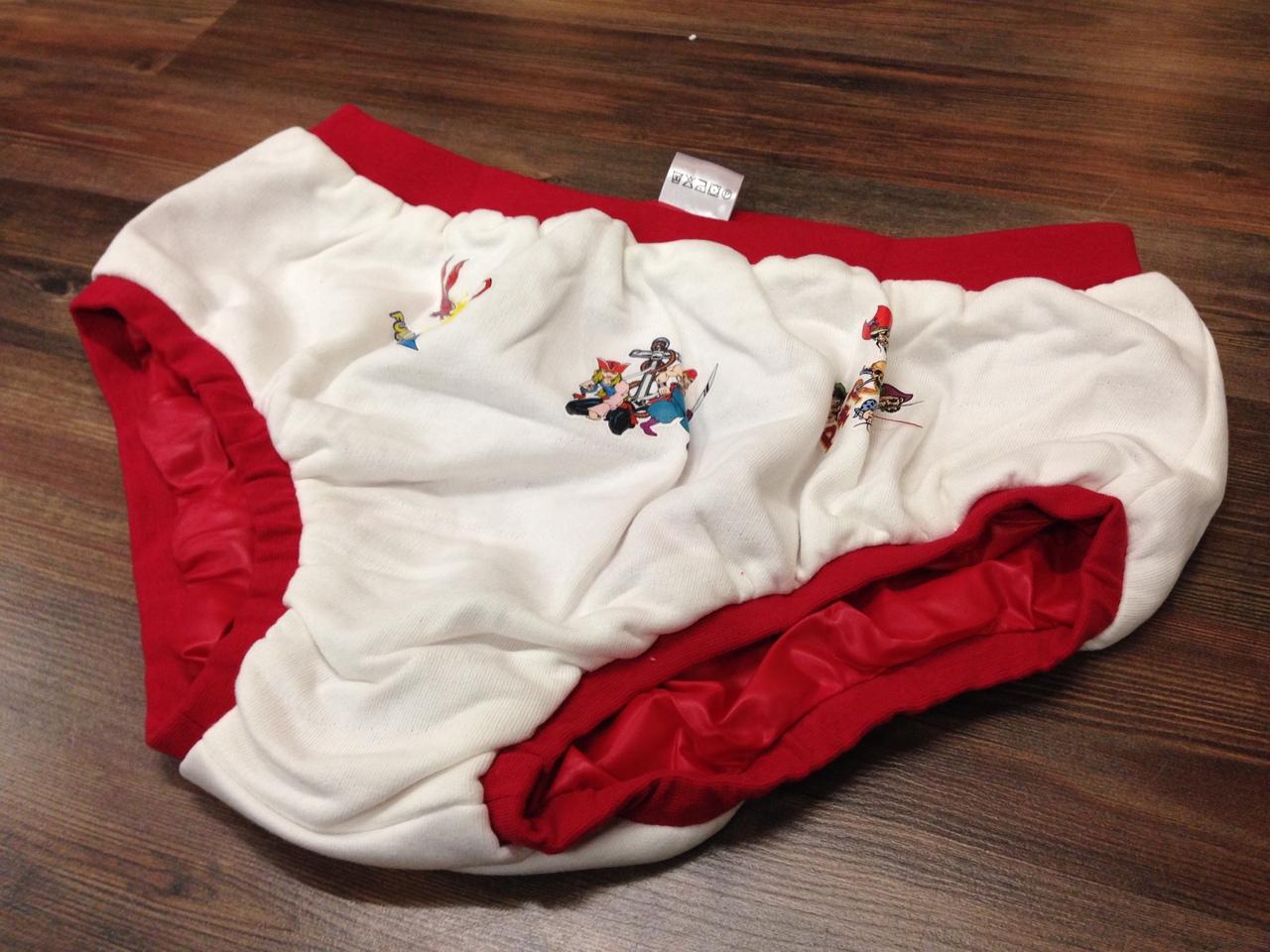 nylon coated adult diaper pants