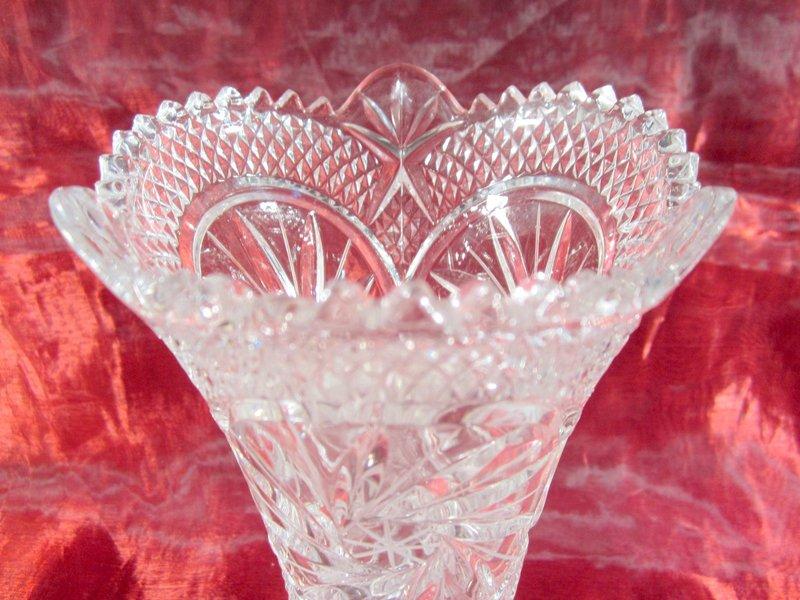 Wundersch ne vase kristallglas 1045 g edle dekoration for Edle dekoration