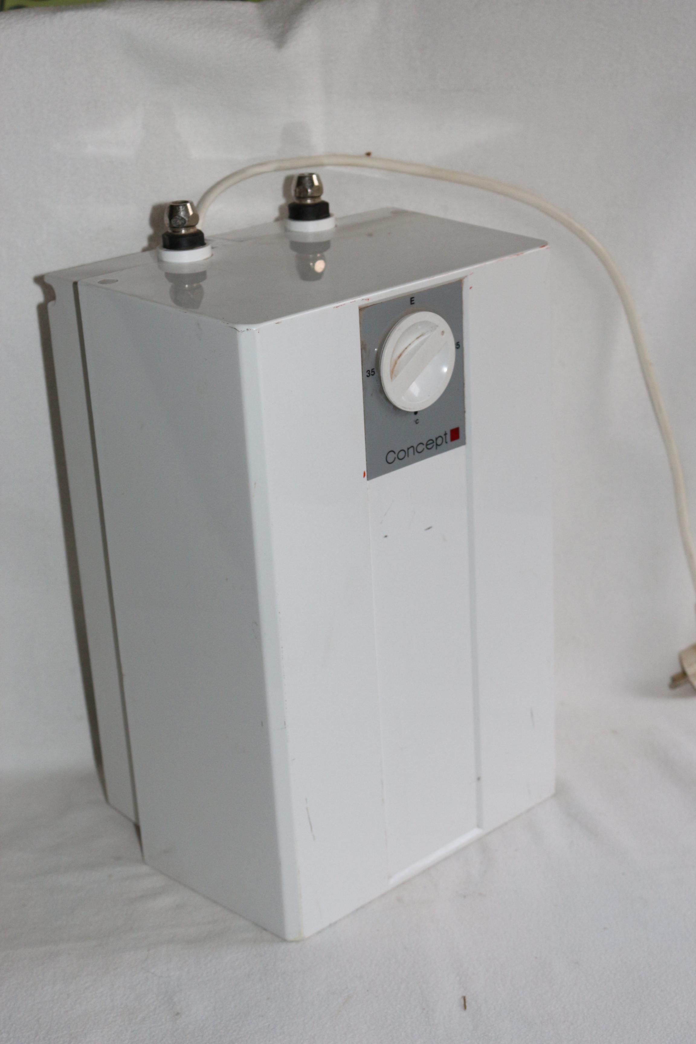 untertisch elektro boiler 5 l warmwasserspeicher ebay. Black Bedroom Furniture Sets. Home Design Ideas