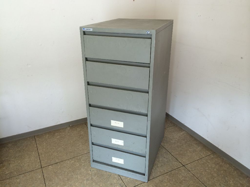 Aktenschrank design  50er 60er Jahre Aktenschrank Büroschrank Metall Lampertz Mid ...