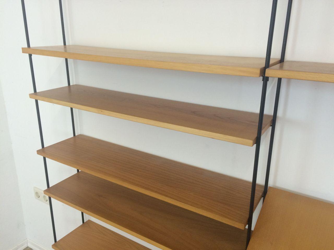 60er 70er jahre omnia regal wandregal wall unit string. Black Bedroom Furniture Sets. Home Design Ideas