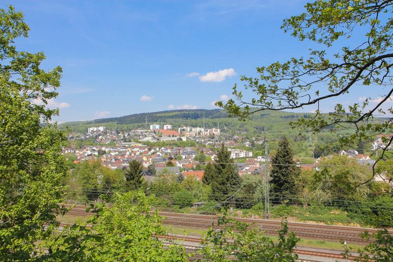 Blick auf Niedernhausen