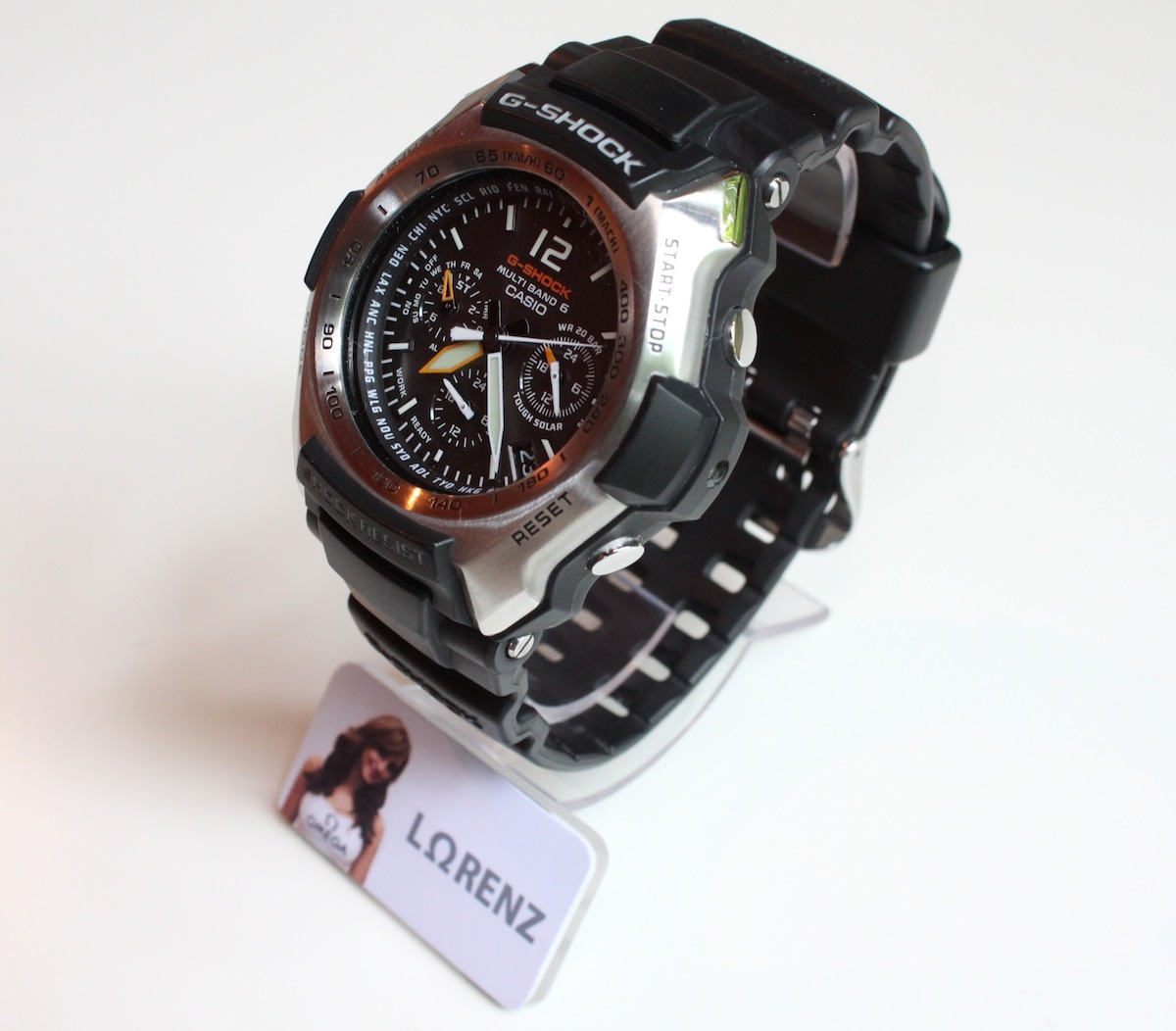 erledigt casio g shock gw 2000 1avef analoge fliegeruhr. Black Bedroom Furniture Sets. Home Design Ideas