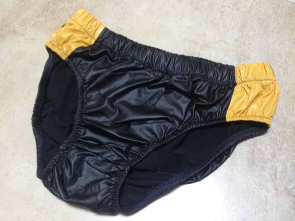 Details zu Glanz nylon slip gummihose windelhose shiny nylon XL ...