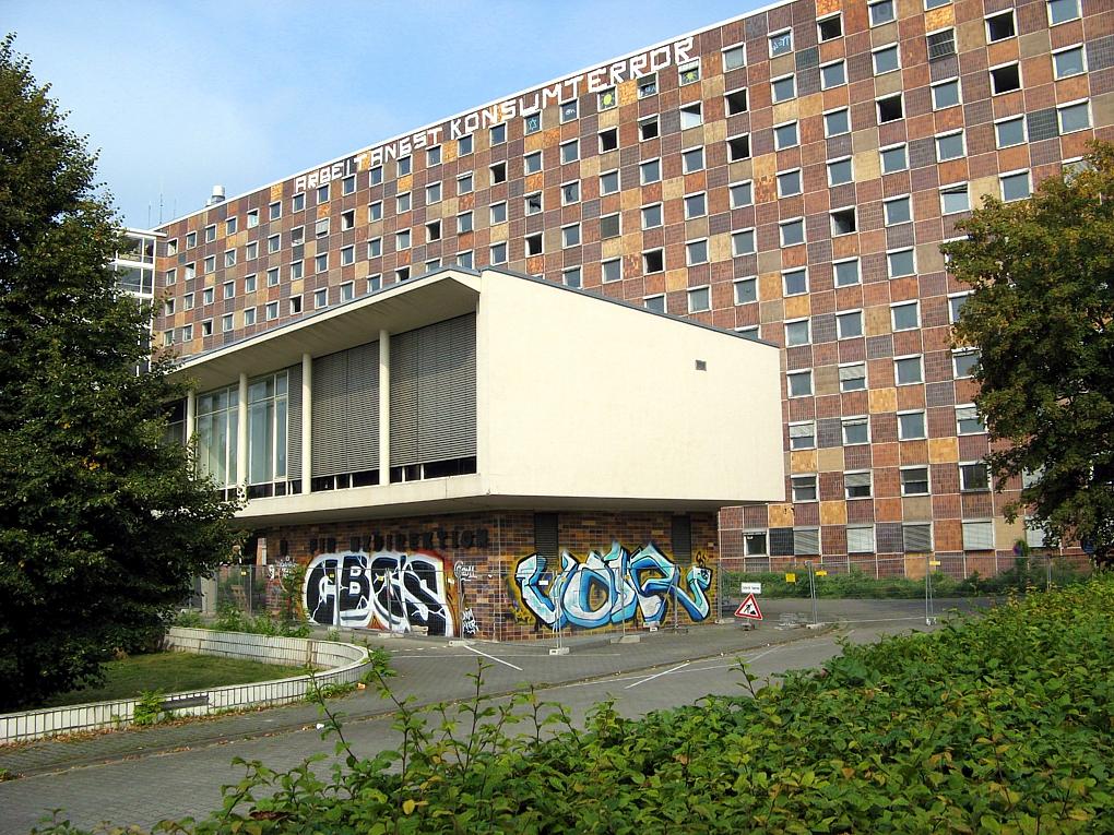 Adickesallee Campus Frankfurt School und Wohnquartier in Bau