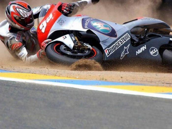 Wypadki motocyklistów 14