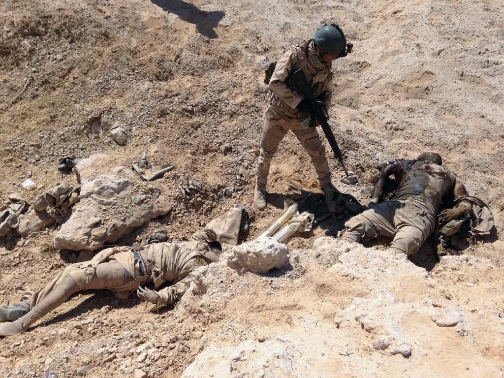 Kurdes, force armée irakienne, milices... Iraq231pflh1