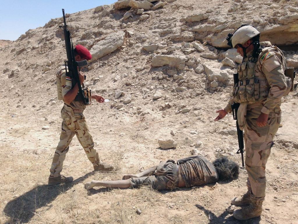 Kurdes, force armée irakienne, milices... Iraq232fyb3f