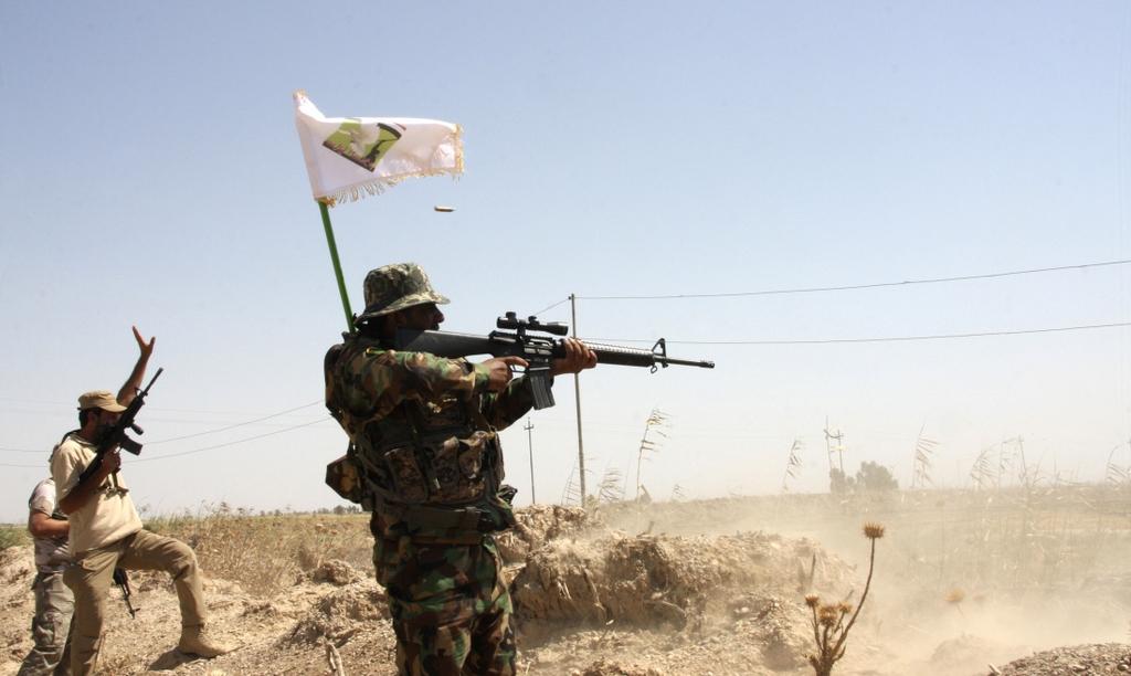 Kurdes, force armée irakienne, milices... Iraq233qia3v