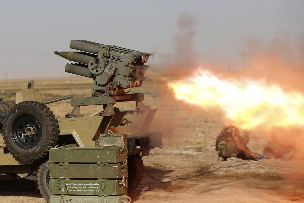 Kurdes, force armée irakienne, milices... Iraq235rxr18