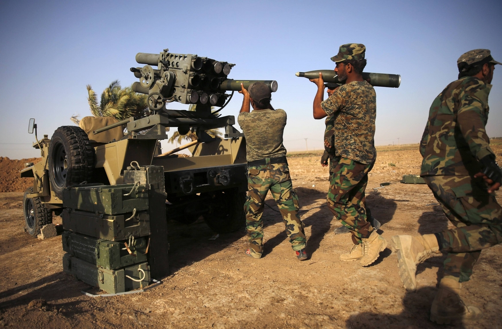Kurdes, force armée irakienne, milices... Iraq2367qpfz