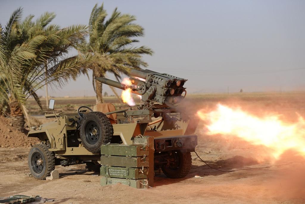 Kurdes, force armée irakienne, milices... Iraq237ierye