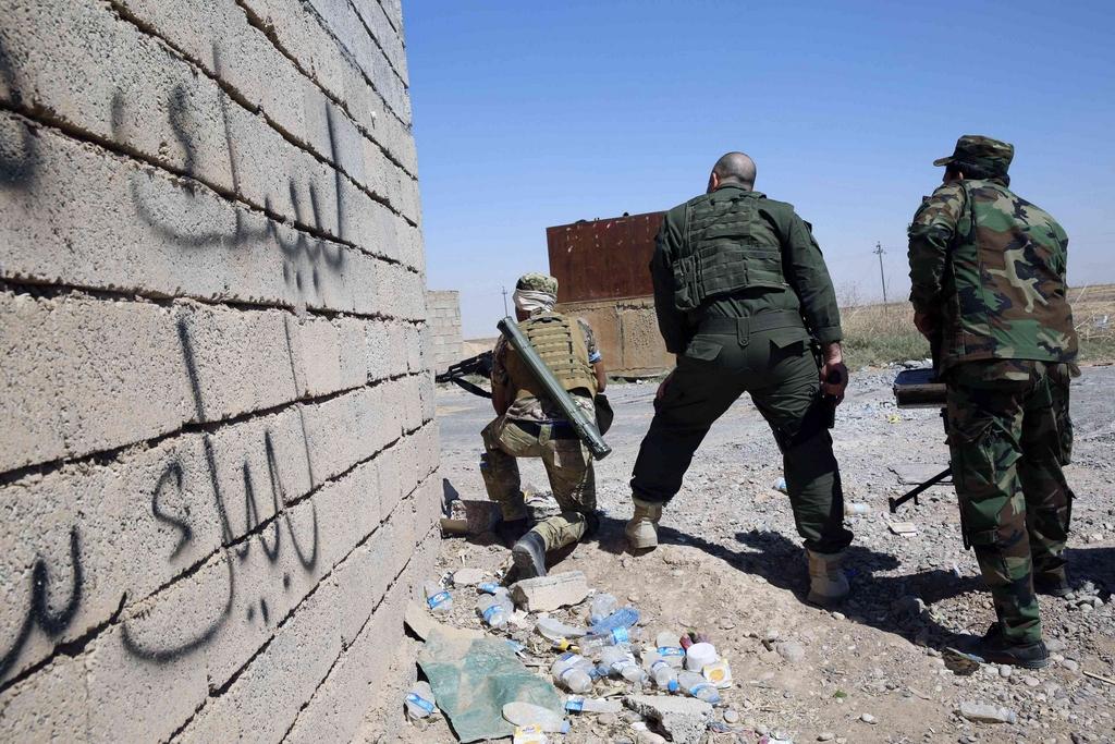 Kurdes, force armée irakienne, milices... Iraq238gwpe5