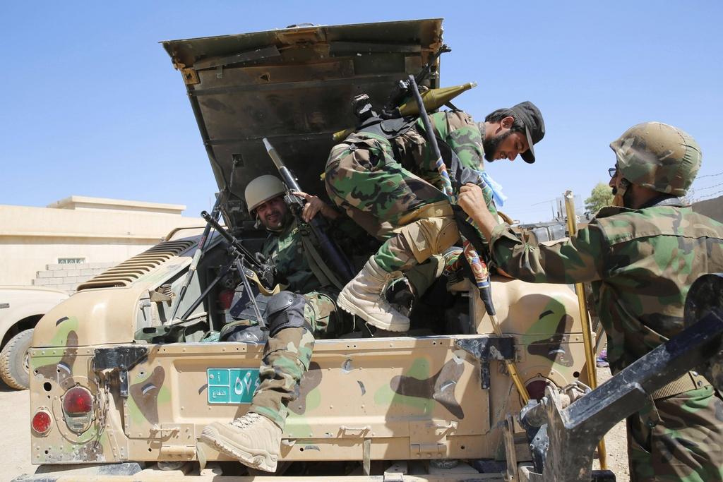 Kurdes, force armée irakienne, milices... Iraq239t4qif