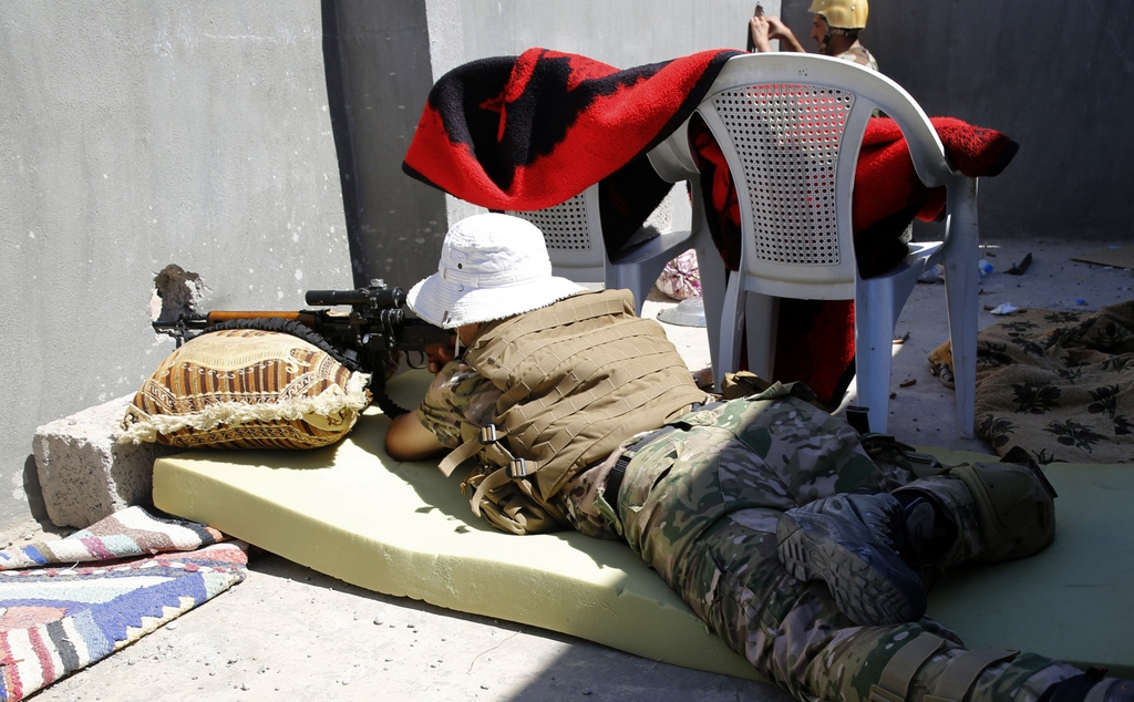 Kurdes, force armée irakienne, milices... Iraq241p5p22
