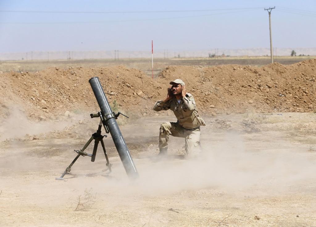 Kurdes, force armée irakienne, milices... Iraq242lyrik