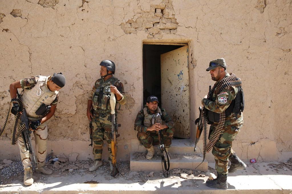 Kurdes, force armée irakienne, milices... Iraq243q2r4d