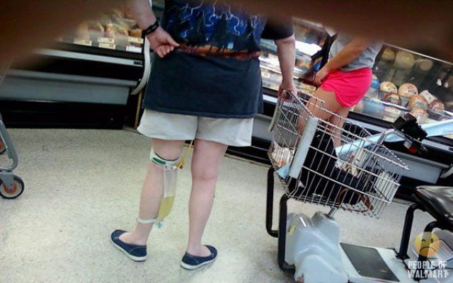 Najdziwniejsi klienci z WalMart #4 34