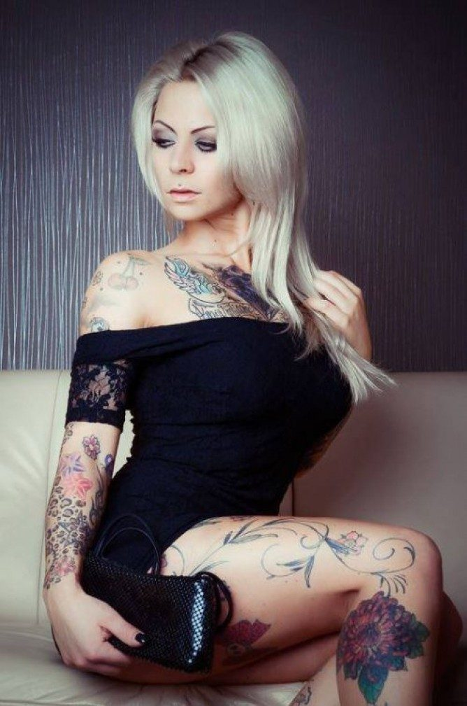 Dziewczyny z tatuażami #4 12