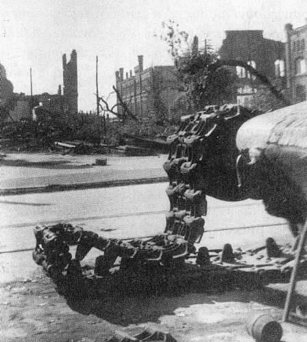 Wrocław  1945 Zniszczenia 74