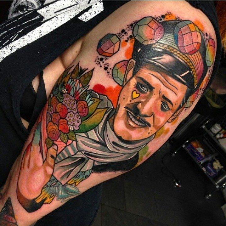 Świetne tatuaże #6 24