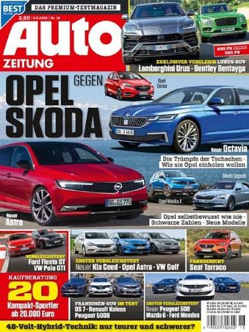 :  Auto Zeitung Magazin August No 18 2018