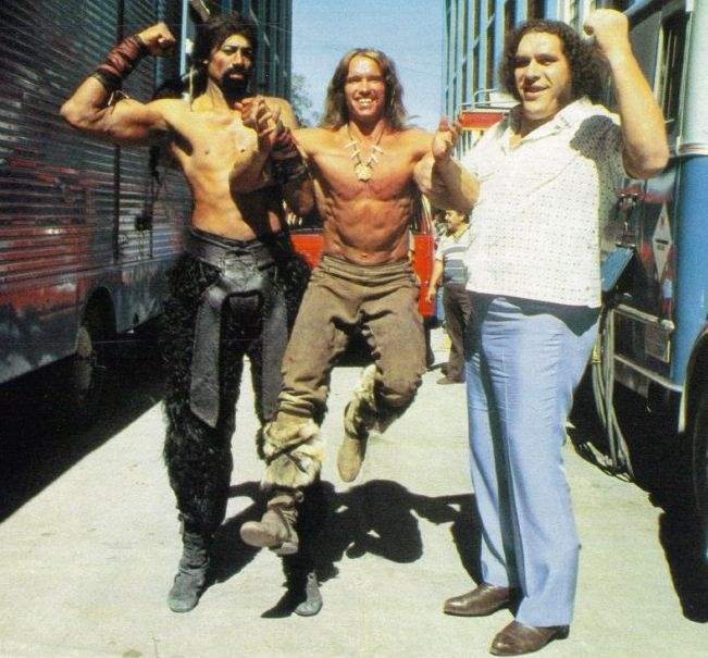 Arnold Schwarzenegger za młodu 2