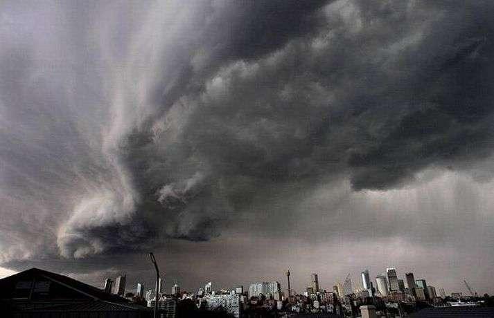 Anomalia pogodowe - 2008 9