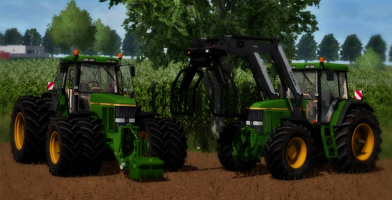 John Deere 7810 Full Pack