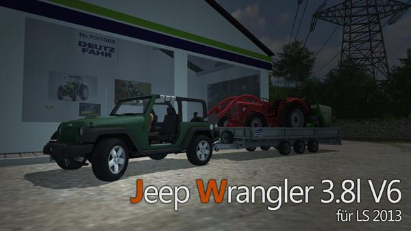Jeep Wrangler v 0.95 Alpha