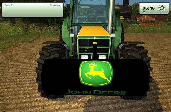 John Deer Weight 700kg v 1