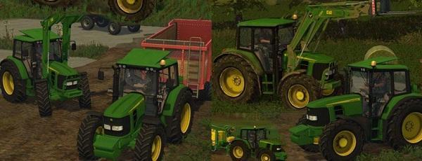 John Dere 6030 4 Cylinder Tractor