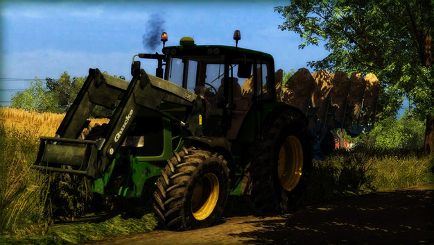 John Deere 6430 Dirty