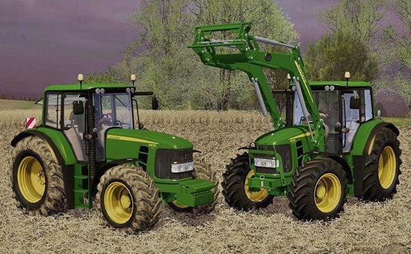 john deere 6630 weigh1ikvu JOHN DEERE 6630 WEIGHT + Front Loader v1