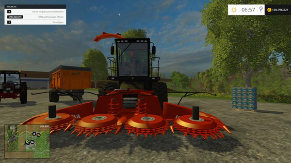 John Deere 7180 Kemper Black/Red Edition